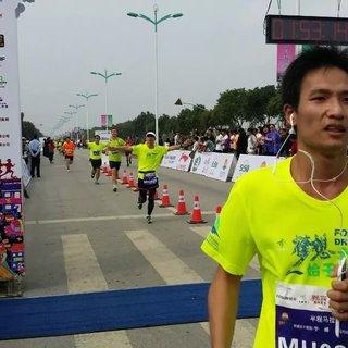 2015 上海金山廊下半程马拉松