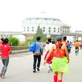 华融湘江银行2016长沙国际马拉松赛随拍来认领吧