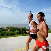 2014兴凯湖马拉松赛事图片