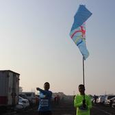 中国海宁追潮马拉松1