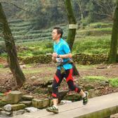 2015杭州asics山地马拉松顺利完赛,排名45,7小时01分。