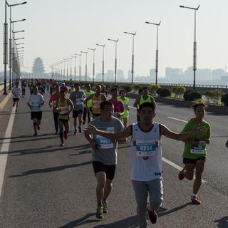 2015迁安市首届长城山野绿道马拉松长城穿越赛