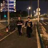 跑遍上海十大最美夜景之万圣荧光趴