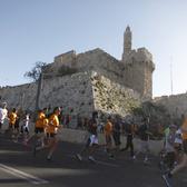 耶路撒冷马拉松官方照片