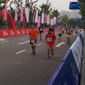 终点(100m-500m、5小时左右选手手机随拍)