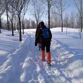 乌鲁木齐丝绸之路冰雪风情节市民冬季运动会---雪地徒步赛