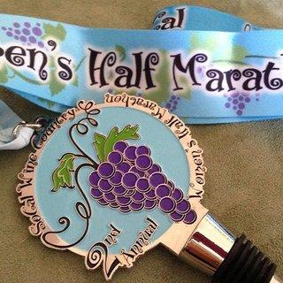 2015南加州葡萄酒之乡女子半程马拉松
