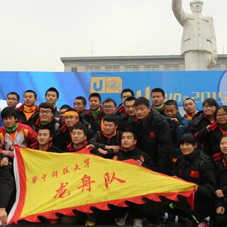 2015 华中科技大学校园冬季长跑