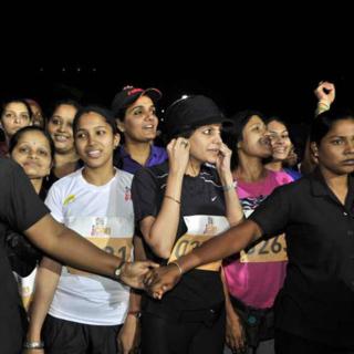 2014 孟买女子半程马拉松