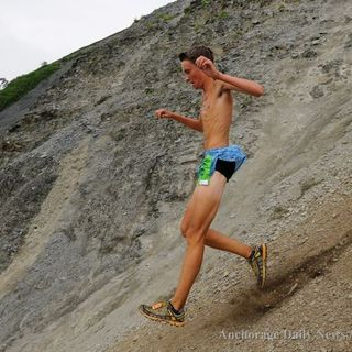 2014高山马拉松赛Mount Marathon Race