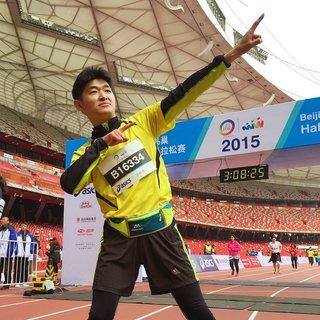 2015北京鸟巢半程马拉松(2015.11.08)
