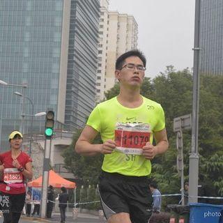 2015年上海国际马拉松赛照片