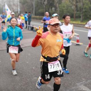 2015无锡全程马拉松