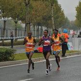 2015上海国际马拉松赛34公里处(全集)