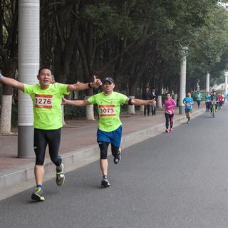 """2016 苏州市路跑联赛(首站)暨""""建屋•海德公园""""杯金鸡湖迎新跑"""