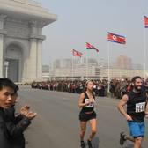 2018平壤马拉松赛事照片(图片均来自官方脸书)