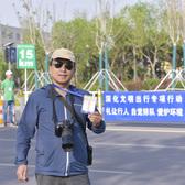 中国万达黄河口(东营)马拉松半程15公里处