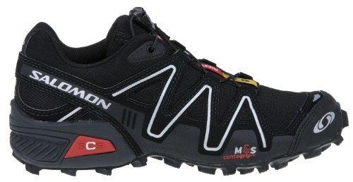 Salomon 萨洛蒙 SpeedCross 2 男式越野跑鞋 黑色