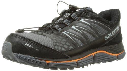 Salomon 萨洛蒙 跑步系列 男 越野跑鞋SHOES XR CROSSMAX 2 CS DARK CLOUD/BK/OR