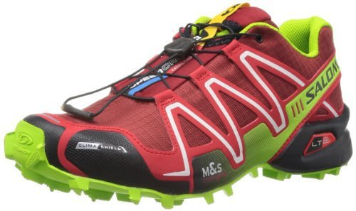 Salomon 萨洛蒙 男 越野跑鞋SHOES SPEEDCROSS 3 CS FLEA/BRIGHT RED/GR