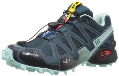 Salomon 萨洛蒙 女 越野跑鞋SHOES SPEEDCROSS 3 CS W GY/GY/BL