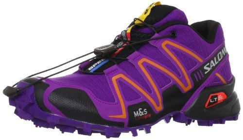 Salomon 萨洛蒙 女 越野跑鞋SHOES SPEEDCROSS 3 W LIGHT ONIX/CLD/BL