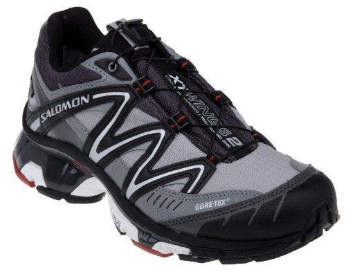 Salomon 萨洛蒙 XT WINGS 2 GTX 男式越野跑鞋,浅灰色,