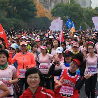 2017杭州国际女子马拉松