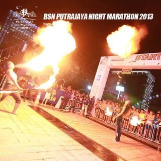 布城夜间马拉松 BSN Putrajaya Night Marathon 2014