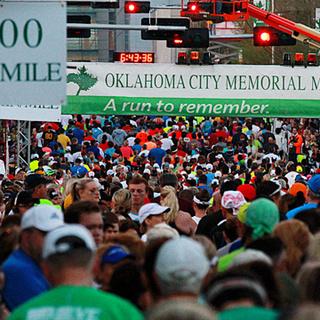 2015俄克拉荷马城纪念马拉松(oklahoma city memorial marathon)