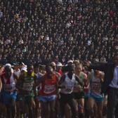 2014平壤国际万景台奖马拉松赛(来自网络)