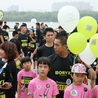 """2015羚跑俱乐部徐汇滨江""""跟着爸爸跑""""欢乐活动"""