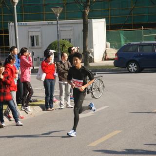 2013复旦新江湾马拉松接力赛
