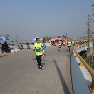 2014高邮大运河越野半程马拉松