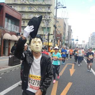 2013大阪马拉松-麦子