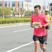 2015宁波国际马拉松 王焕 12:01-12:37