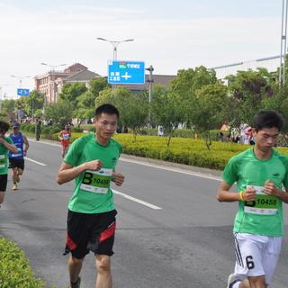 2015 九龙湖国际半程马拉松赛