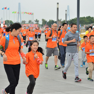2014欢乐跑中国上海站