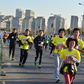 2015年上海元旦迎新跑