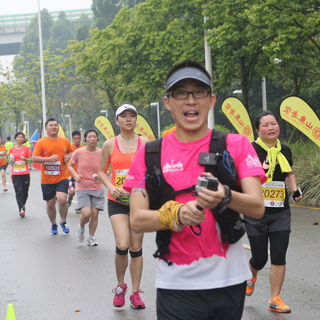 2015广州10公里路跑赛