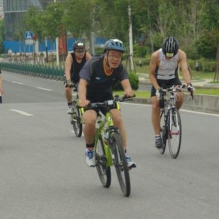 2014上海金山城市沙滩铁人三项