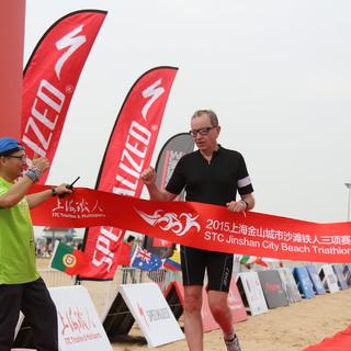 2015上海金山城市沙滩铁人三项赛