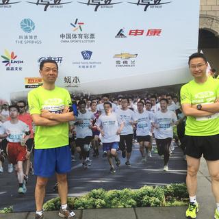 2015 杨浦新江湾城8公里