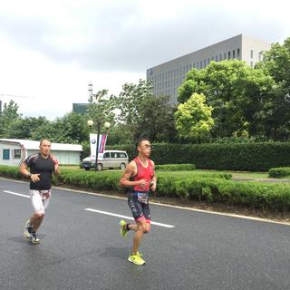 """2015""""玖玖金服""""VGT铁人三项赛•安亭站"""