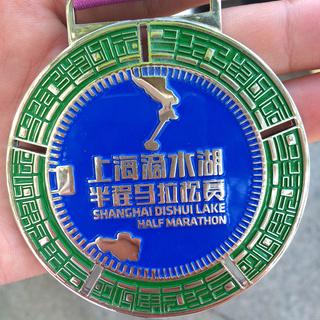 2015 上海滴水湖半程马拉松