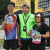2015上海拉面杯10公里邀请赛 拉伸和抽奖花絮