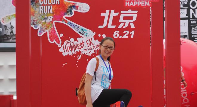 彩色跑最美志愿者美女们9:30-17:00