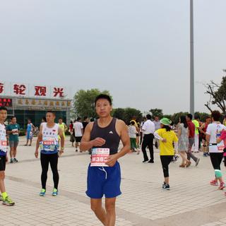 2015 连云港之夏连岛日落半程马拉松