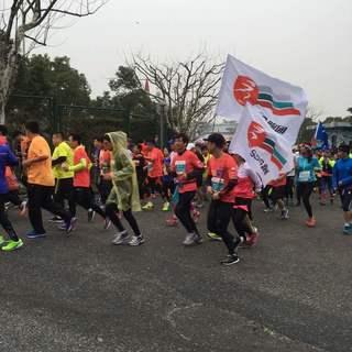 2016上海青浦半程马拉松