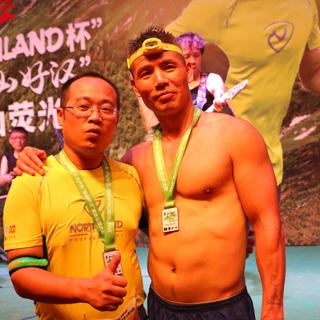 """2015 南京""""NORTHLAND杯""""三夫户外""""量山好汉"""" 紫金山荧光跑"""